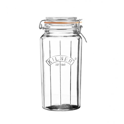 Kilner Słoik 1,8l, Facetted Clip Top Jars