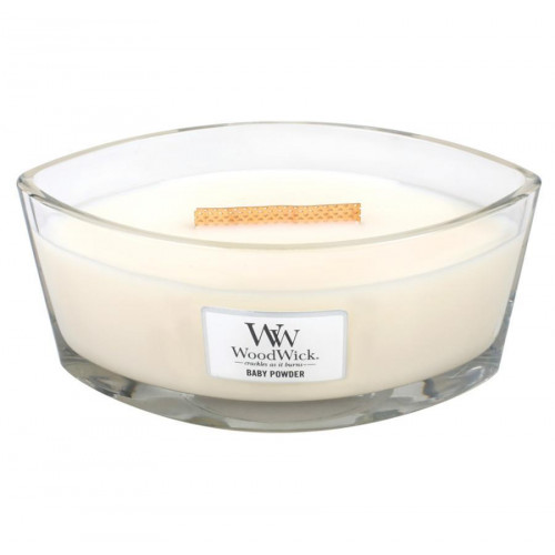 WoodWick Heartwick Flame - Baby Powder