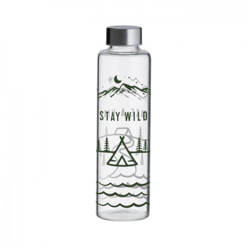 TYPHOON Butelka szklana 0,6 l Stay Wild, Pure