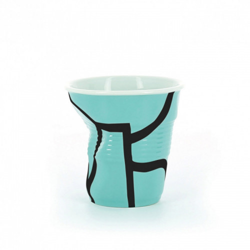 FROISSES Kubek All over turquoise 80 ml Revol
