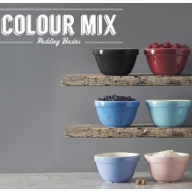 Colour Mix Pudding Basins
